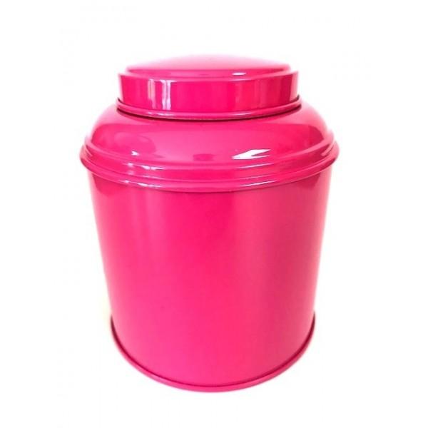 Boîte métal Rose Fushia