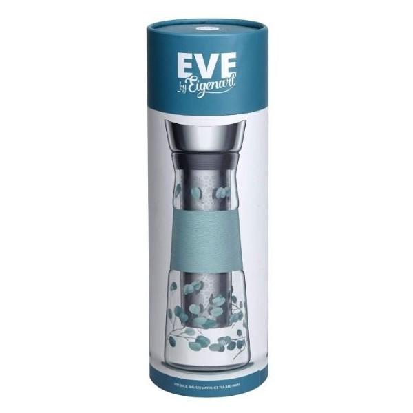 Carafe en verre Eve Eucalyptus