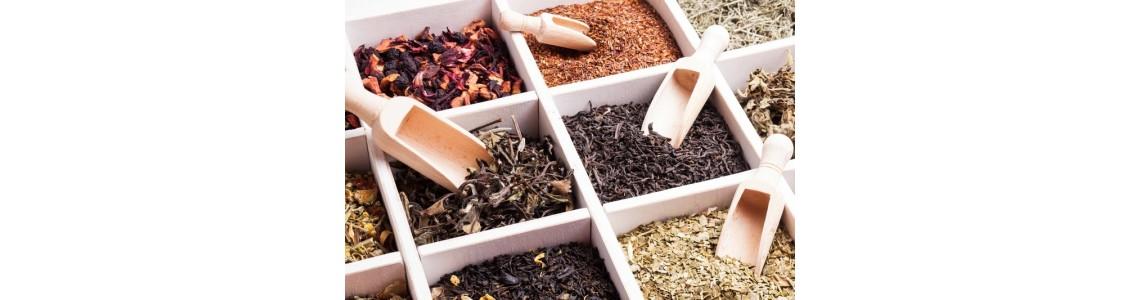 Les différents thés